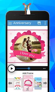 Anniversary Video Movie Maker screenshot 7