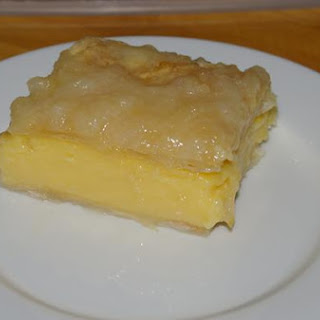 Home Made Vanilla Slice