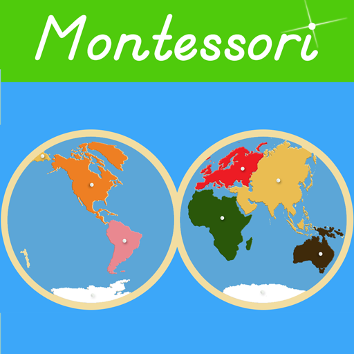 Montessori Continents & Oceans app for Android