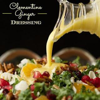 Clementine Ginger Salad Dressing.