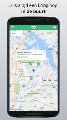 Kringloop App - screenshot
