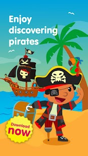 Planet Pirates, games for kids- screenshot thumbnail