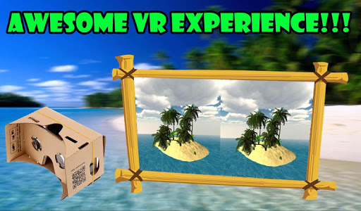 VR Tropical Paradise Island