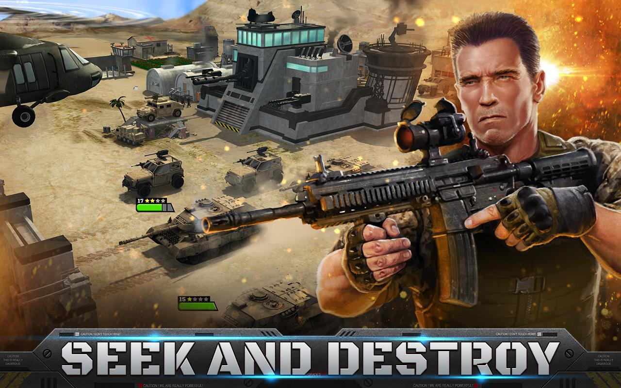 Mobile game commercial - Mobile Strike Screenshot