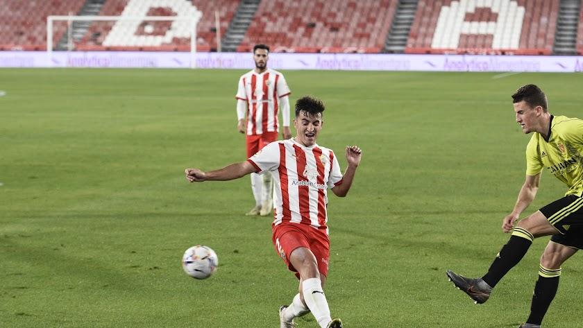 Aitor Buñuel será titular este sábado ante el Deportivo Alavés.