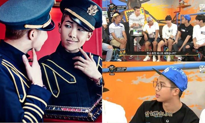 BTS' Rap Monster explains why he hasn't taken MENSA's IQ test
