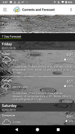 Screenshot for Weather Lab in United States Play Store