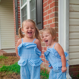 Irish Twins! Happines! by Kellie Jones - Babies & Children Children Candids