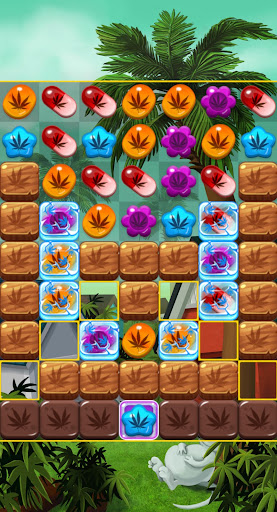 Crush Weed Match 3 Candy Jewel screenshot 5