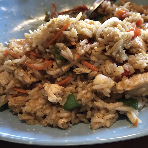 GF Friend rice with chicken