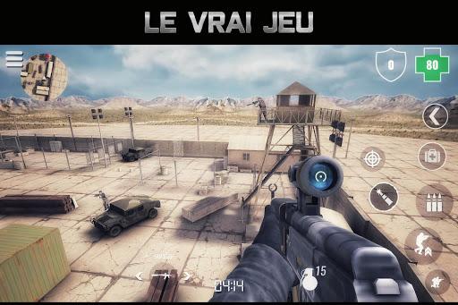MazeMilitia LAN, Online Multijoueur jeux de guerre captures d'u00e9cran 1