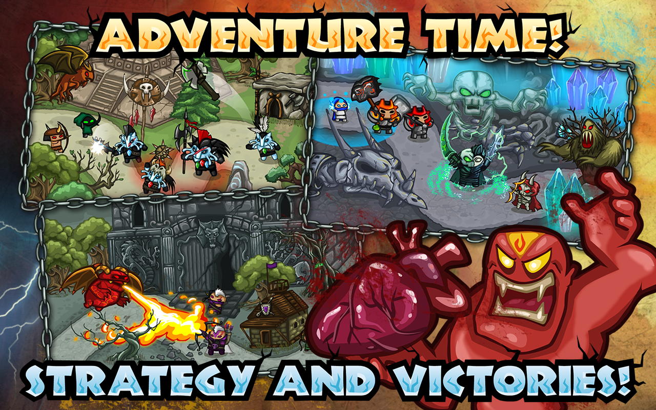 Tower defense: Thing TD game- screenshot