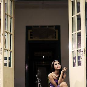 Girl next door by Yanuar Nurdiyanto - People Portraits of Women ( pwcopendoors-dq )