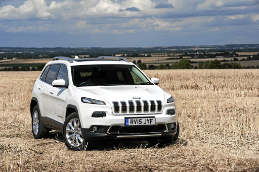 Jeep will revise the badly received front end of the Cherokee when the facelift arrives in 2018.    Picture: NEWSPRESS UK