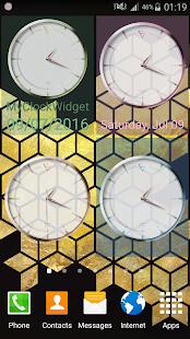 Rose Gold Clock - náhled