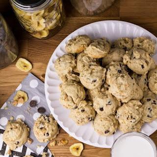 Peanut Butter & Banana Chip Cookies