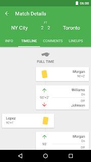 CrowdScores - Live Scores screenshot 01