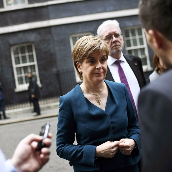 First Minister of Scotland Nicola Sturgeon. Picture: REUTERS/Dylan Martinez