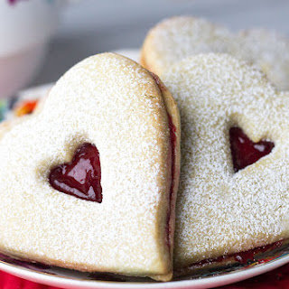 Raspberry Butter Cookies