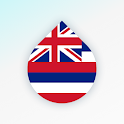 Drops: Hawaiian language learning icon
