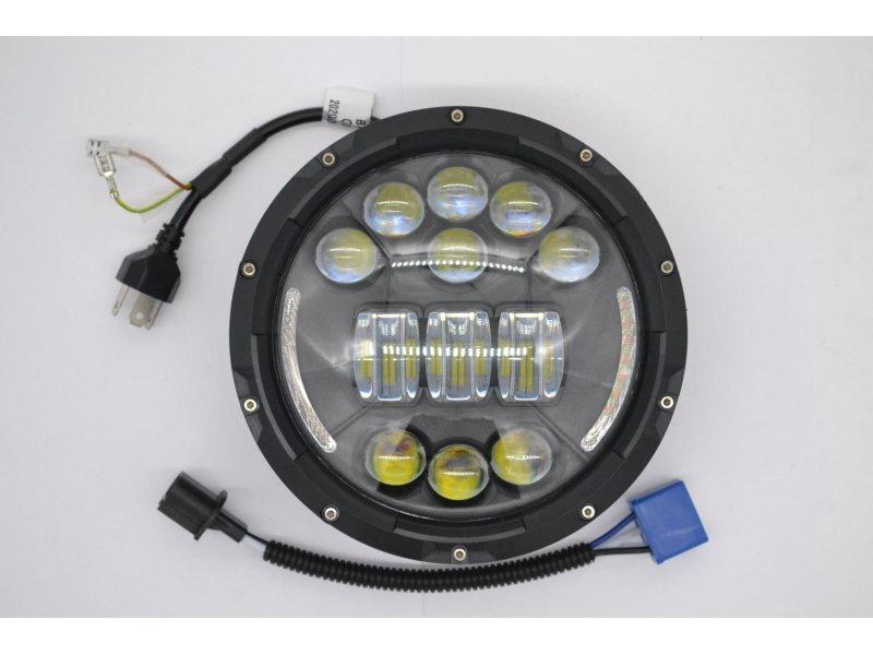 ну и конечно самое главное! Светодиодная оптика головного света!!! Для установки потребуется кастрюля от штатных фар.