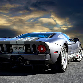 GT by JEFFREY LORBER - Transportation Automobiles ( automobile, jeffrey lorber, rust 'n chrome, race car, car, ford, lorberphoto, gt, sports car )