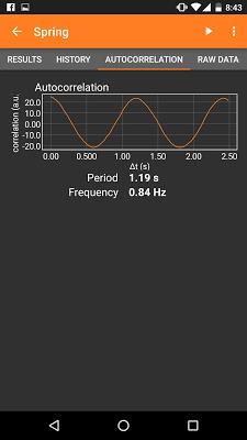 phyphox - screenshot
