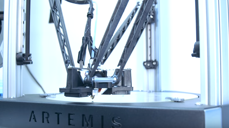 Touch Sensor Leveling with the SeeMeCNC Artemis