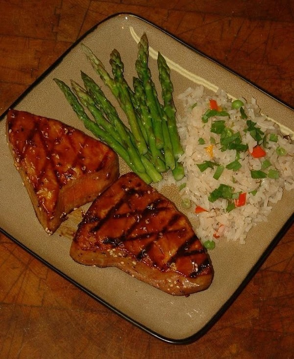 Spring Hill Ranch Korean-style Grilled Tuna Steaks Recipe
