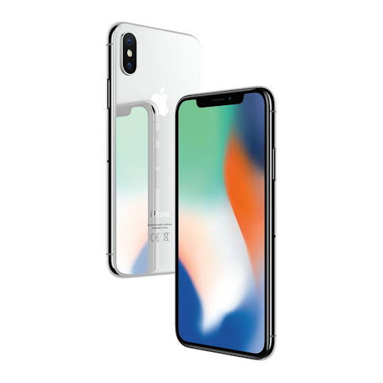 Apple iPhone X 64GB Silver (C)