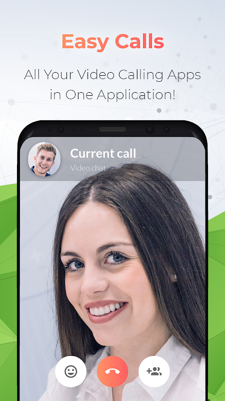 All in one Face to Video Call screenshots