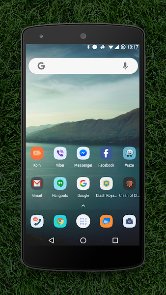 Flash rounded icon pack HD v1.1