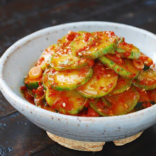 Oi Muchim (Spicy Cucumber Salad) Recipe