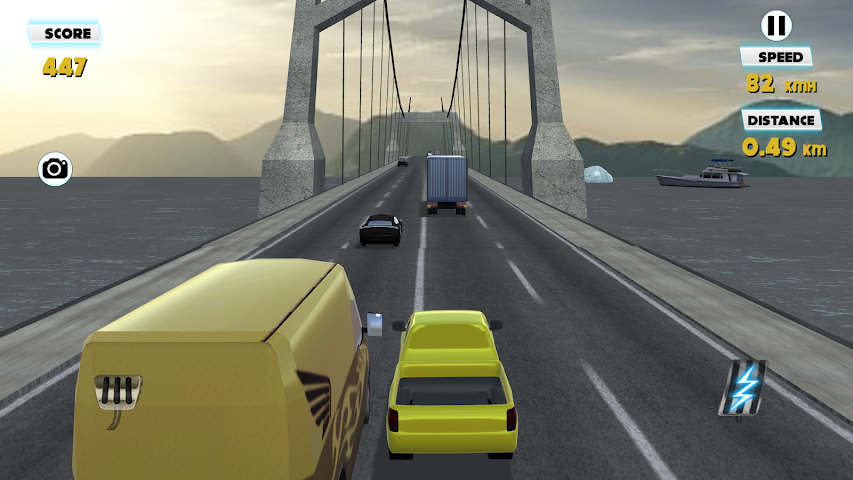 android Traffic Chaser: Police Race Screenshot 4