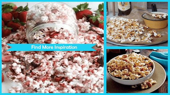 Delicious Popcorn Recipe Ideas - náhled