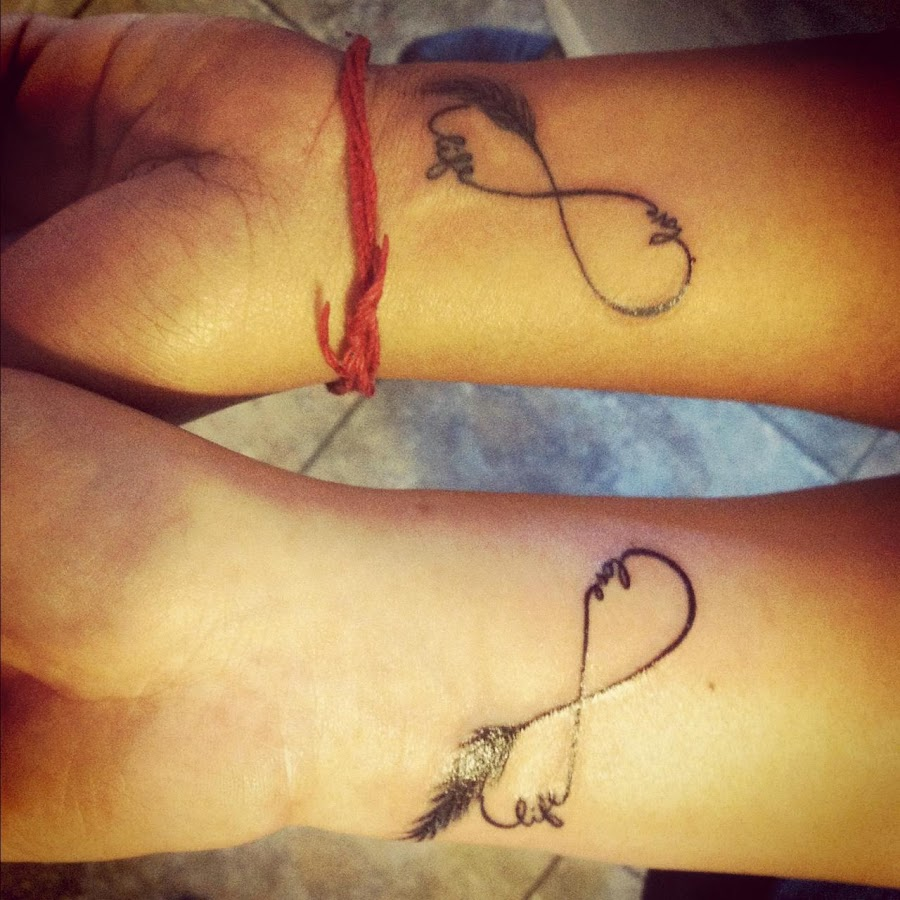 31 best matching tattoos for couples cool love design - Couple Tattoos Screenshot