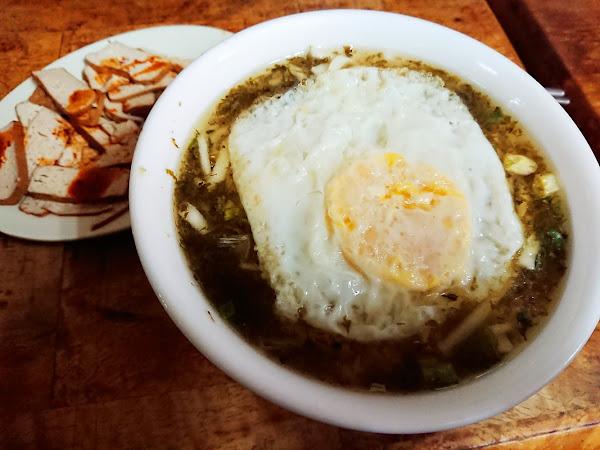 萬國酸菜麵- 巷弄內老字號 早起的鳥兒才吃的到的酸菜蛋湯麵 @台北西門町