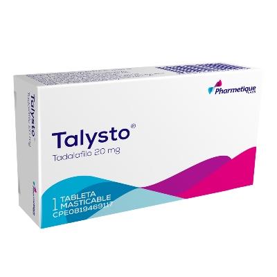 Tadalafilo Talysto 20 mg x 1 Tableta