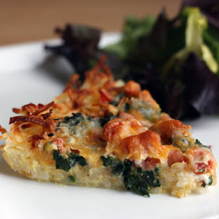 "Breakfast for Dinner -""Rosti"" Quiche!"