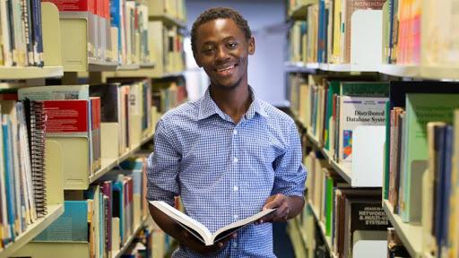 Prince Dlamini at the UKZN Westville campus. Photographer: Rogan Ward.