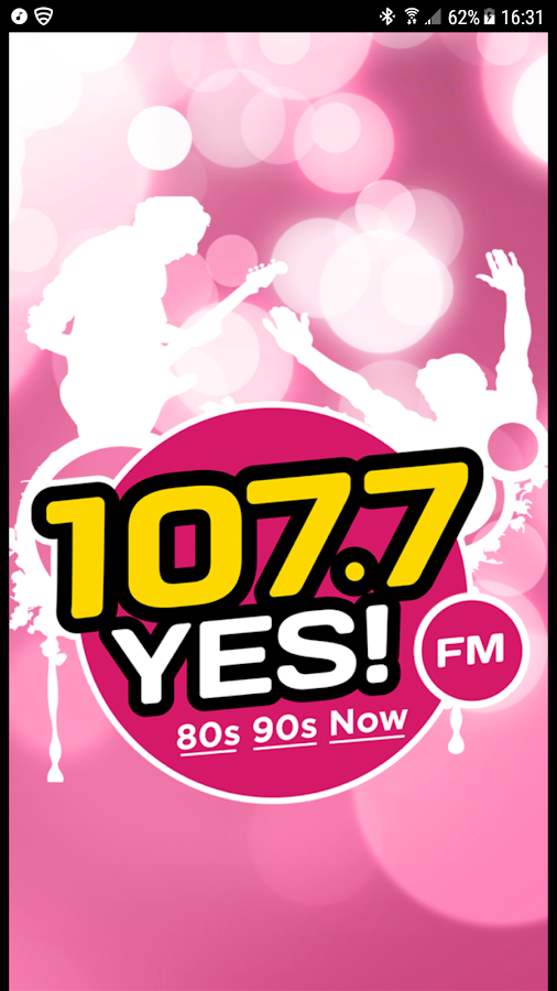 107.7 Yes! FM- screenshot