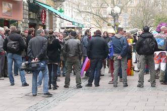 Photo: Flics en civil rue d'Austerlitz