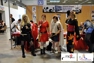 Photo: Cosplayers, Habits traditionnels, etc.. à la Japan Event de Chambéry les Samedi et Dimanche 26-27 Mai 2012. Photo prise par notre équipe press. (Japan Event Chambéry 2012)