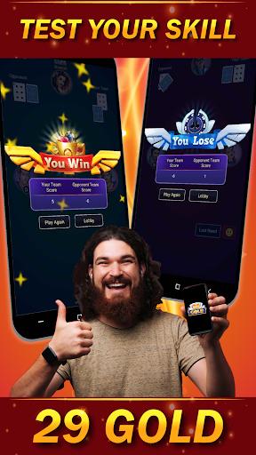 29 Card Game ( twenty nine ) Offline 2020 3.8 screenshots 7