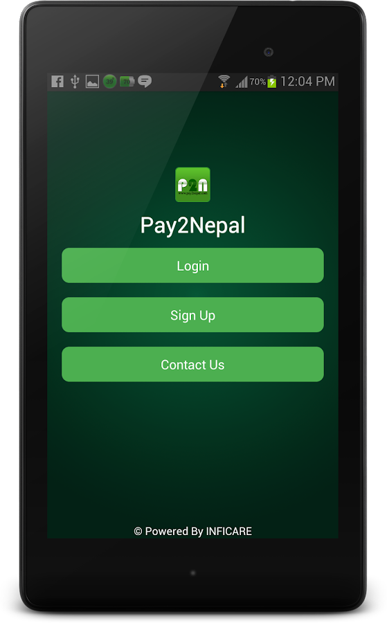 Pay2Nepal- screenshot
