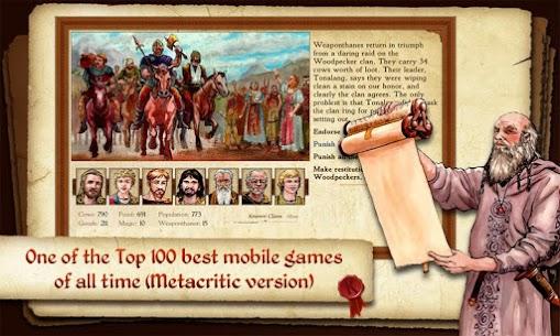 King of Dragon Pass Apk: Text Adventure RPG 1