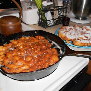 DUTCH FUNNEL CAKES.