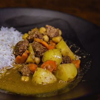 Porter Curry Beef Stew.