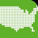 Enjoy Learning U.S. Map Puzzle icon