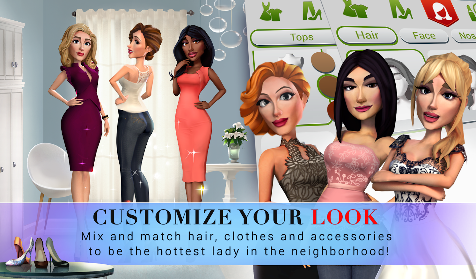 Desperate Housewives: The Game- screenshot